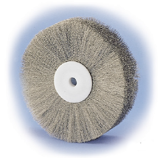 stainless wire polishing brush